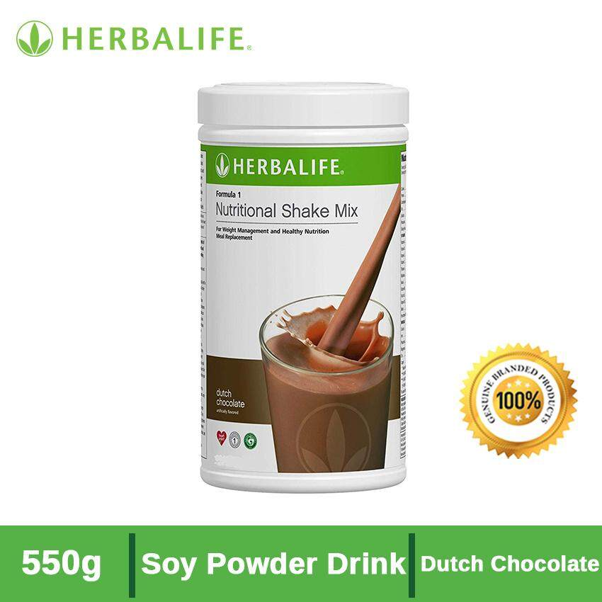 Herbalife Start Now Pack F1 (Dutch Chocolate)  + F3 Protein + Tea Mix ( Peach) [FOC Spoon]