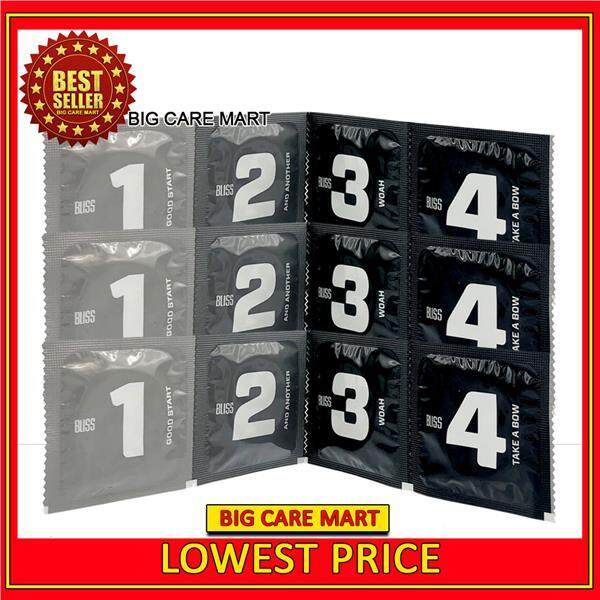 Four Extra Thin Condoms Pack (12pieces)