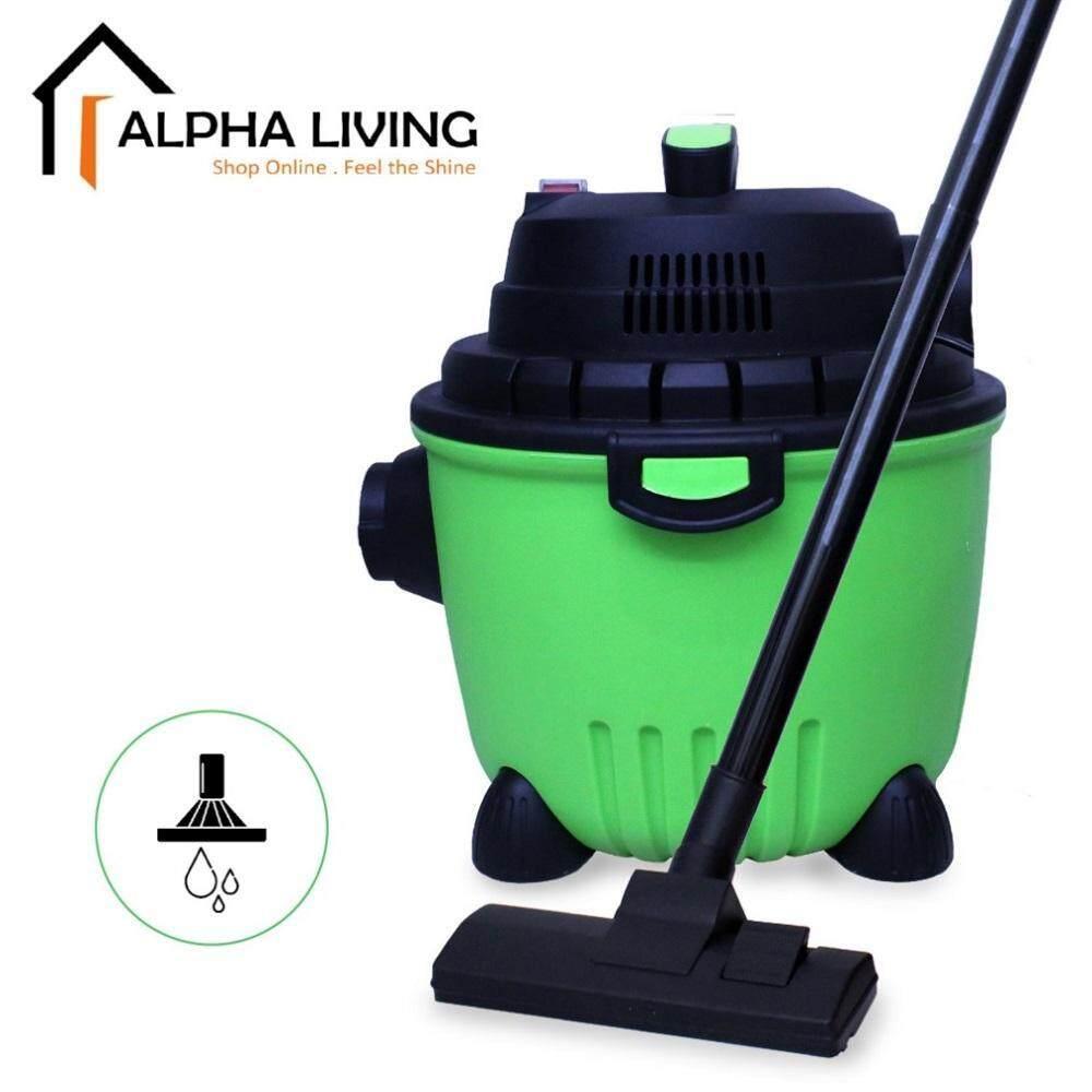 Alpha Living KEA0300 3 in 1 Wet Dry Blow Heavy Duty 10L Vacuum Cleaner 1200W (Green Version)