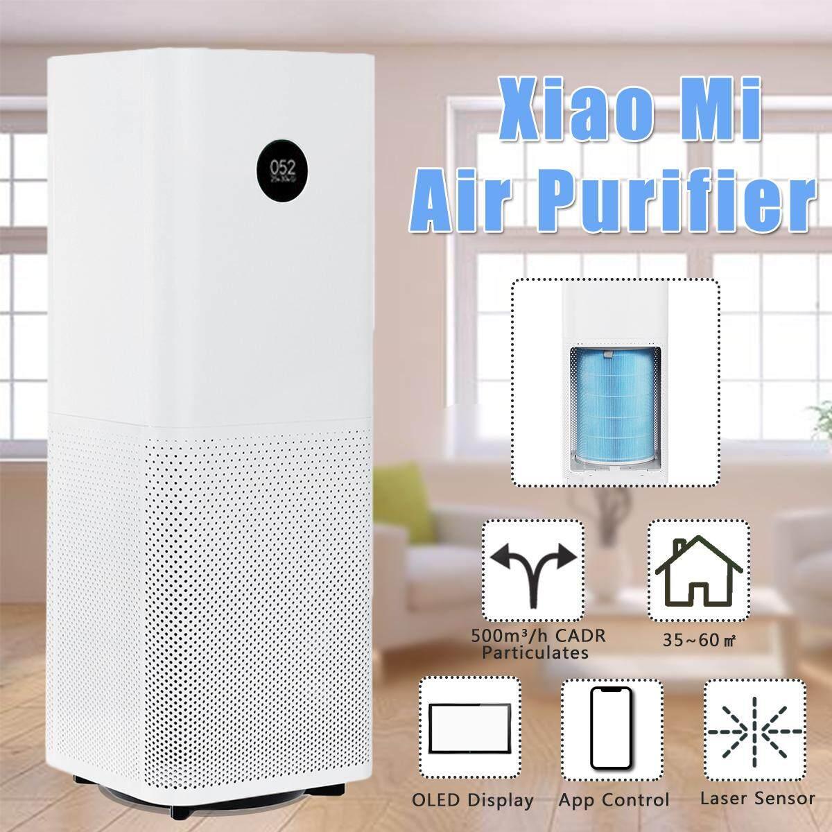 ยี่ห้อไหนดี  แม่ฮ่องสอน XIAOMI สีขาวเครื่องกรองอากาศเครื่องทำความสะอาดมืออาชีพสมาร์ทในครัวเรือนเครื่องเพิ่มความชื้นเพื่อสุขภาพ 35 ~ 60m3