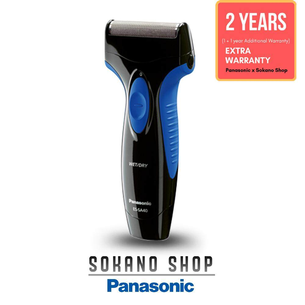 Panasonic ES-SA40-K Clean and Easy Washable Rechargeable Shaver