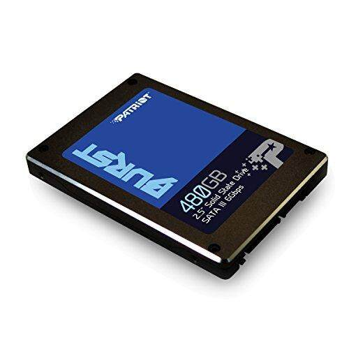 Patriot Burst 480GB SSD Internal Solid State Drive 2.5 inch Form Factor SATA III 6Gbps 7mm