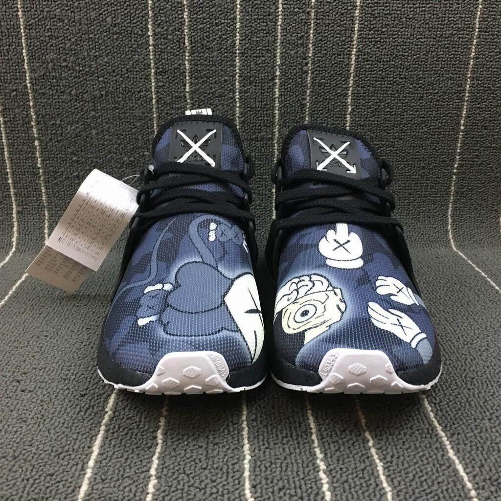 ยี่ห้อไหนดี  ลพบุรี ใหม่รองเท้า Adidas XX KAWS X Adidas NMD XR1 ชายรองเท้าวิ่ง