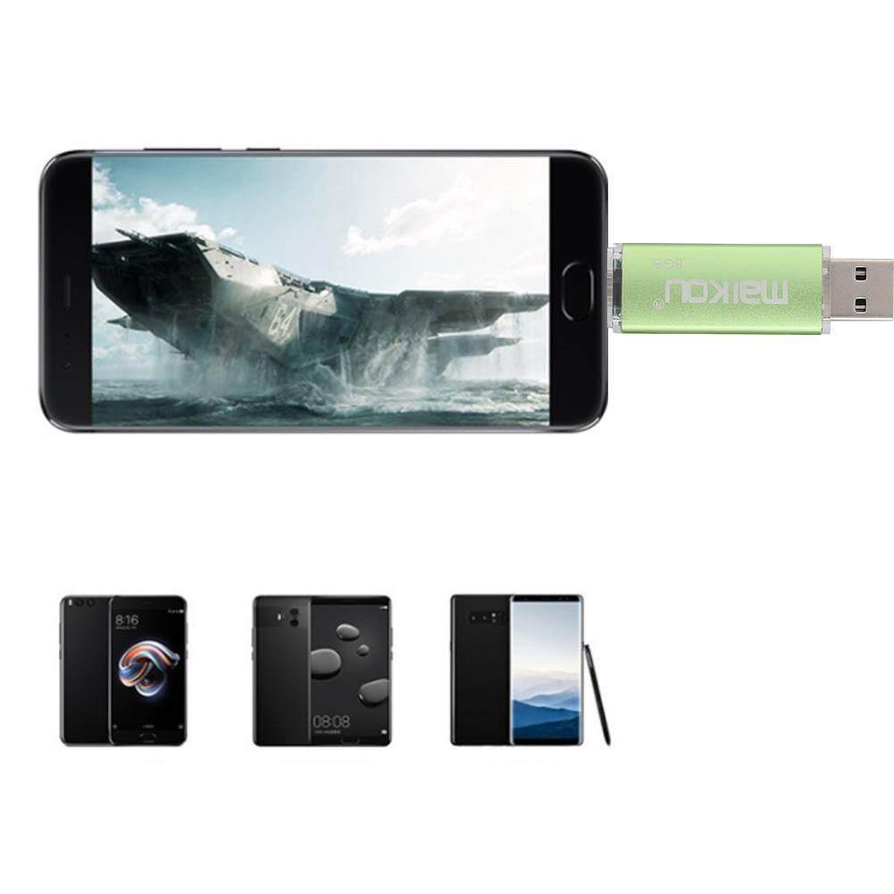 Storage & Hard Drives - USB Stick 2 Flash U Dual-use 0 OTG Memory Green Drive High Speed Disk Portable - [8G / 16G / 32G / 64G / 128G]