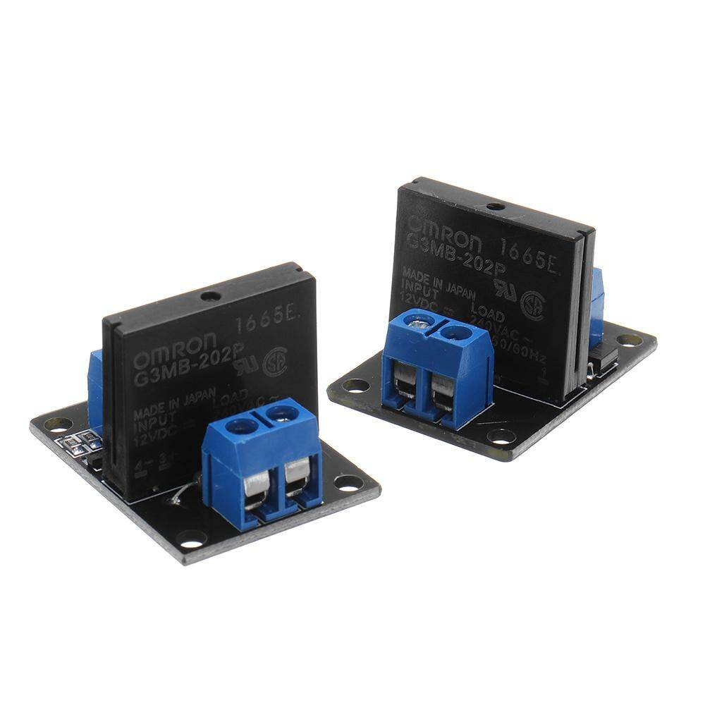 DC 12V Relay Module Solid State High and low Level Trigger For Arduino  240V2A - HIGH LEVEL / LOW LEVEL