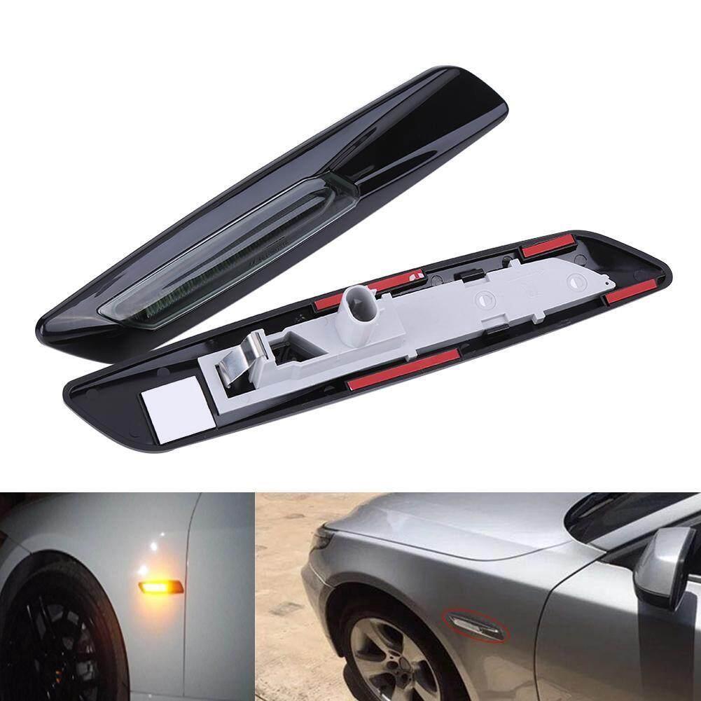 Car Lights - Amber LED Side Marker Lights Turn Signal BMW E60 E61 E81 E90 E91 1 3 5 Series