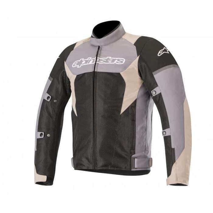 Alpinestars Roma V2 Waterproof Drystar Jacket - Dark Grey/Sand Black