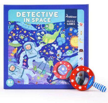 MiDeer Detective In Space Puzzle Games toys for girls