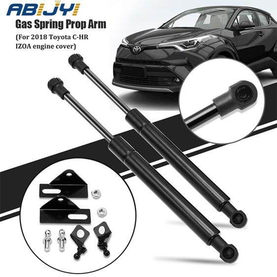 1Pair Car Front Engine Hood Lift Supports Props Rod Arm Gas Springs Shocks Strut Bars for Toyota CHR C-HR 2018 2019