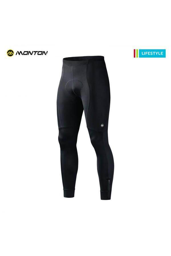 MONTON MENS PADDED CYCLING PANTS LIFESTYLE RACE