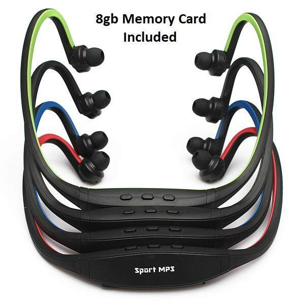 8gb Sport Stereo Headset Headphone Earphone MP3 Player