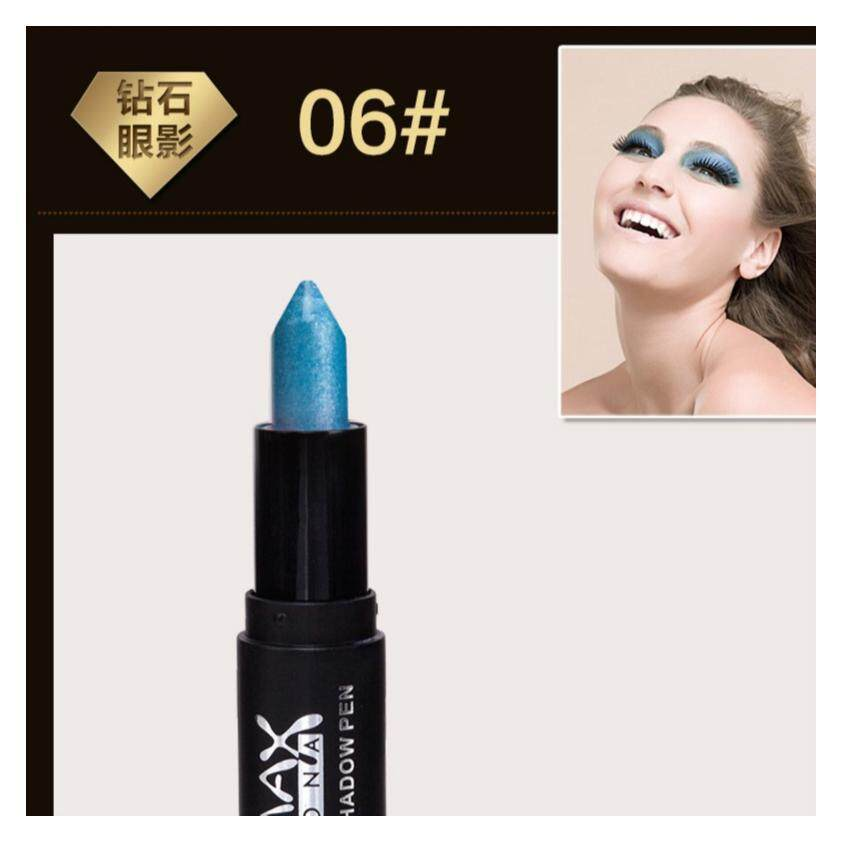 MAXDONA Eyeshadow Pen - Light Blue + White (Code 06)