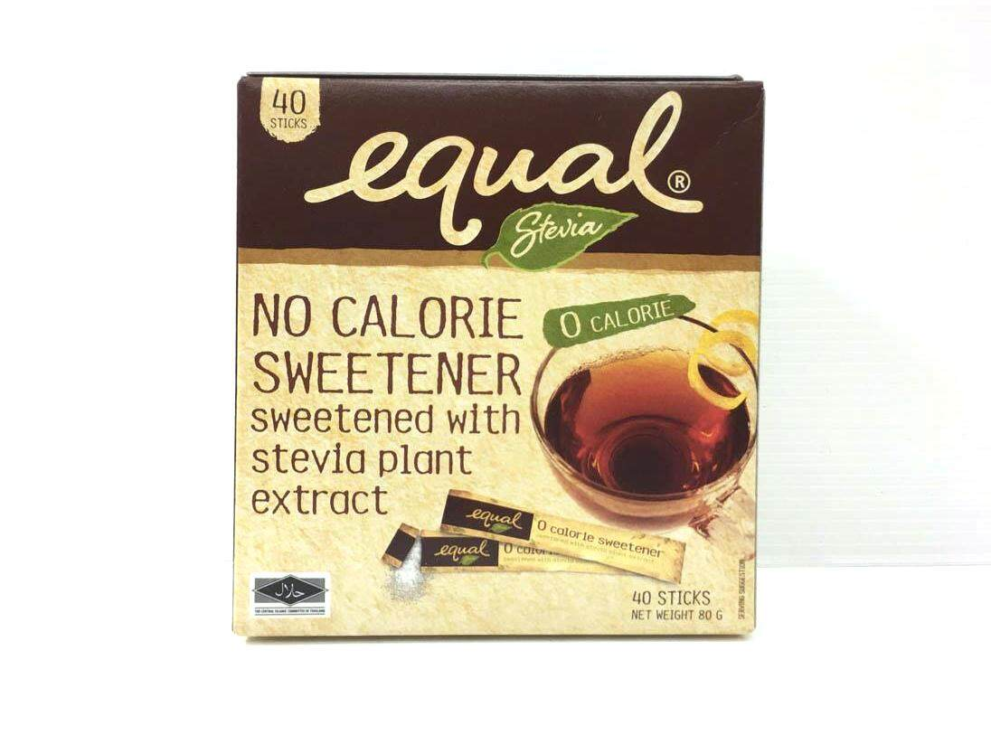 EQUAL STEVIA 40 STICKS