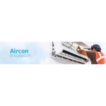 Harga Professional 1.0HP Aircond Installation Service R410A Gas