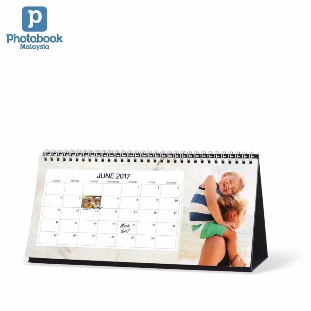 Photobook Malaysia 11 x 5 Desk Calendar
