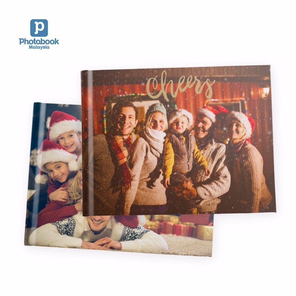 "Photobook Malaysia 11"" x 8.5"" Medium Landscape Imagewrap Hardcover Photo Book, 40 Pages"