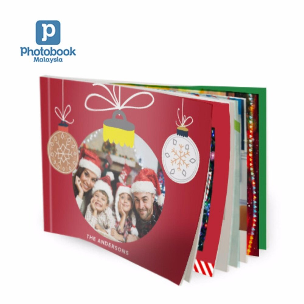 """Photobook Malaysia 11"""" x 8.5"""" Medium Landscape Softcover Photo Book,40 Pages"""