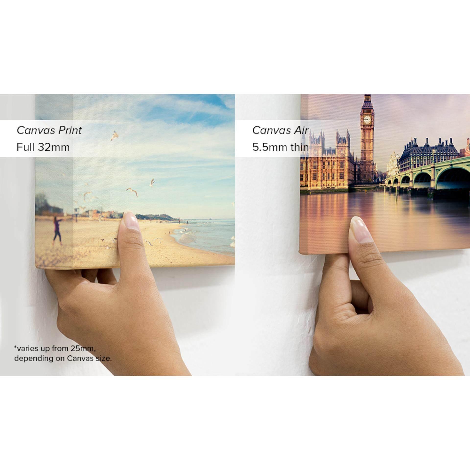 "Photobook Malaysia 12"" x 18"" Personalised Portrait/Landscape Canvas Air"