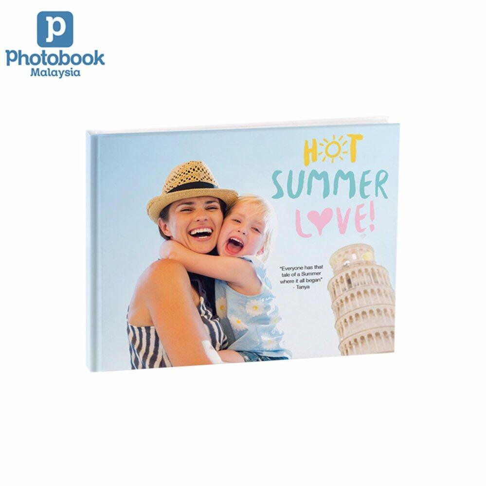 "Photobook Malaysia 14"" x 11"" Large Landscape Imagewrap Lay Flat Photo Book, 22+2 Pages"