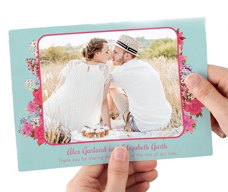 "Photobook Malaysia 5"" x 7"" Flat Greeting Card - 20 Identical Pieces"
