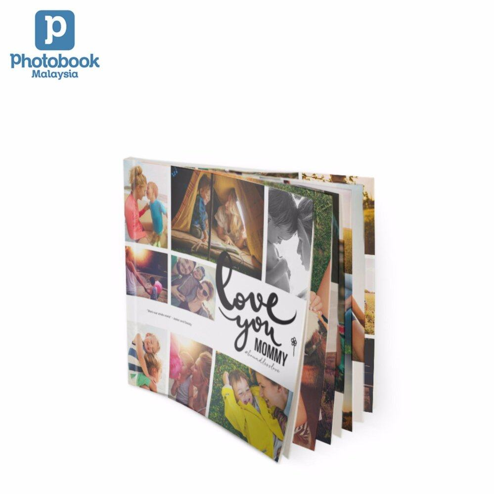 "Photobook Malaysia 6"" x 6"" Mini Square Softcover Photo Book, 40 Pages"