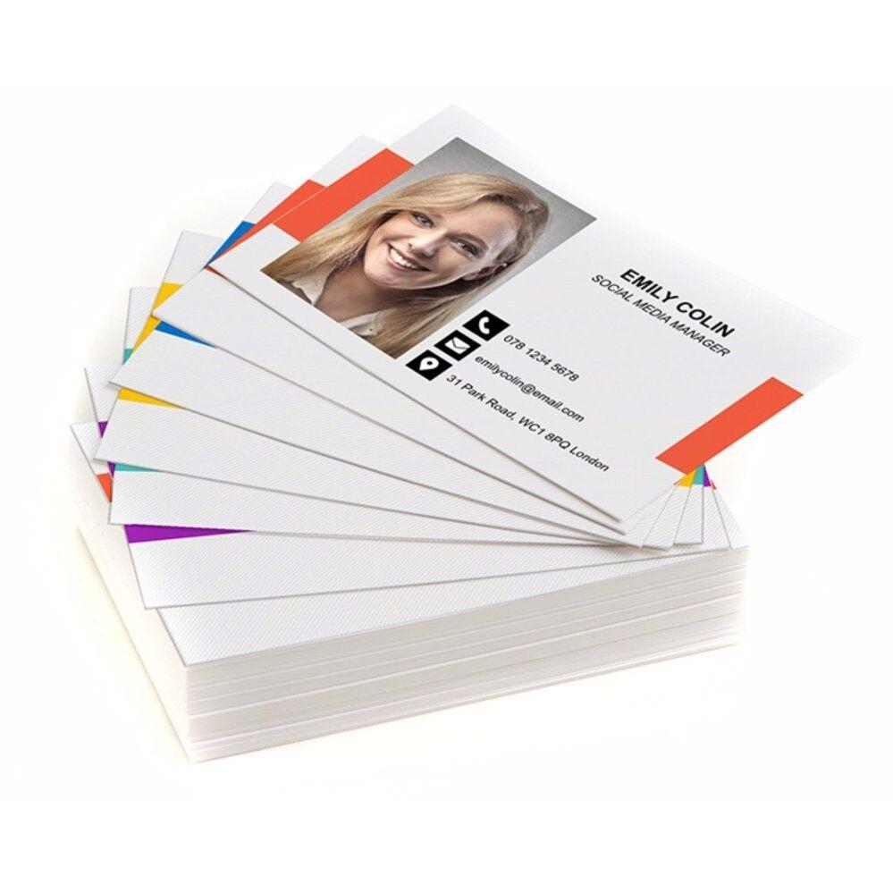Photobook Malaysia Business Card, 100 pcs (1 Design)