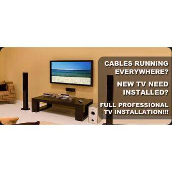 Professional Flat LED TV Standalone Installation Service