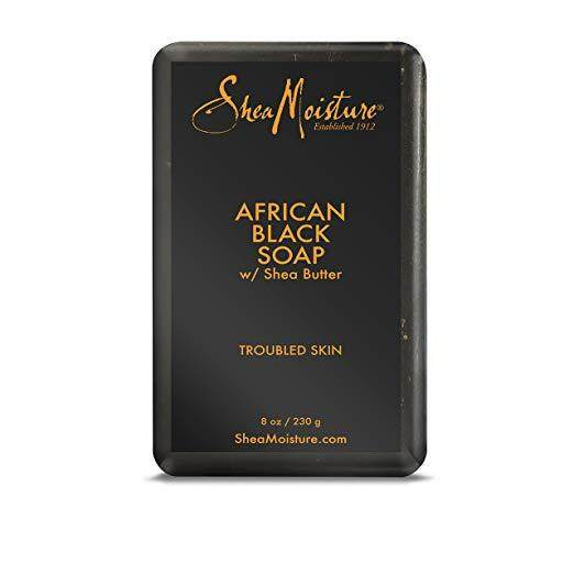 SheaMoisture 8 oz African Black Soap Bar
