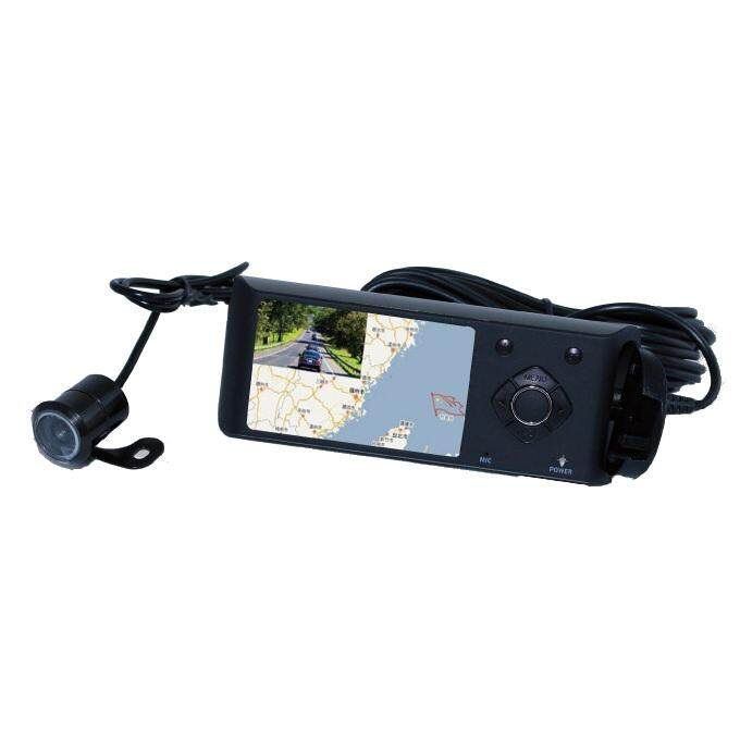 Vono DR03 Full HD 1080P Car Recorder with Dual Camera System GPS Tracing Built-in Battery 1200mAh Vono+2