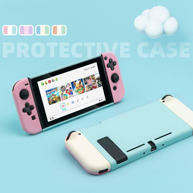 Hình ảnh Vỏ công tắc đầy màu sắc tách vỏ cứng hộp bảo vệ chống rơi Vỏ bộ điều khiển Joy-Con cho phụ kiện Nintendo Switch
