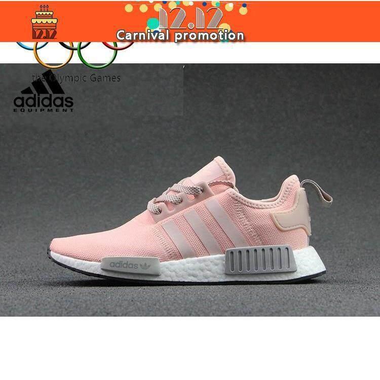 การใช้งาน  พิษณุโลก VIP   ดอร์ทมุนด์   ใหม่ Adidas NMD ดิบ R1 ผู้หญิงรองเท้าวิ่ง