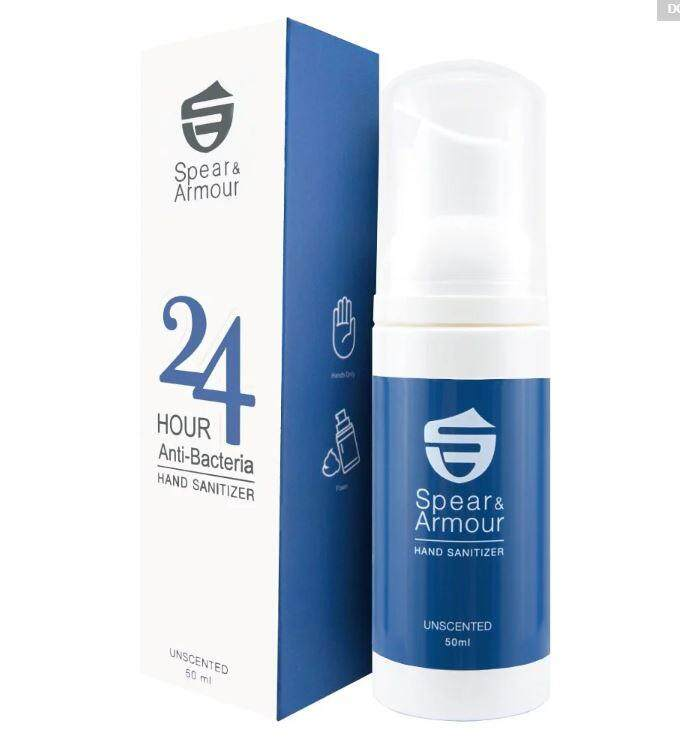 Spear & Armour Hand Sanitizer Classis (Unscented) 50 ml