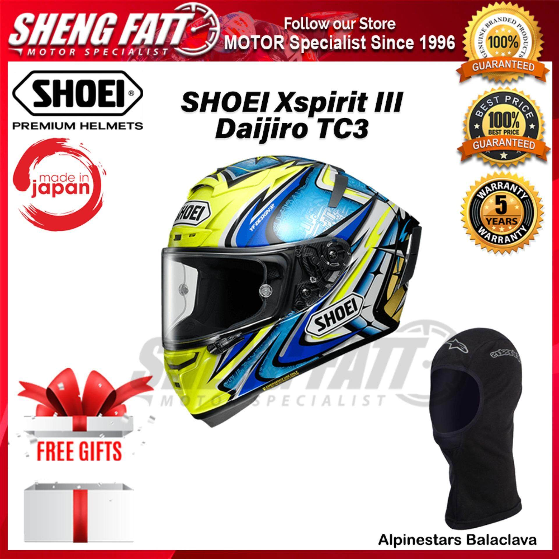 SHOEI X-SPIRIT 3 DAIJIRO TC3 - FULL FACE HELMET [ORIGINAL