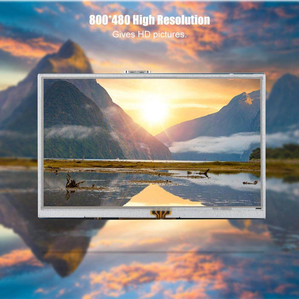 Printers & Projectors - HD Viewing 5in Angle with Wide Case Raspberry Touch Screen 800*480 3B+/3B/2B for