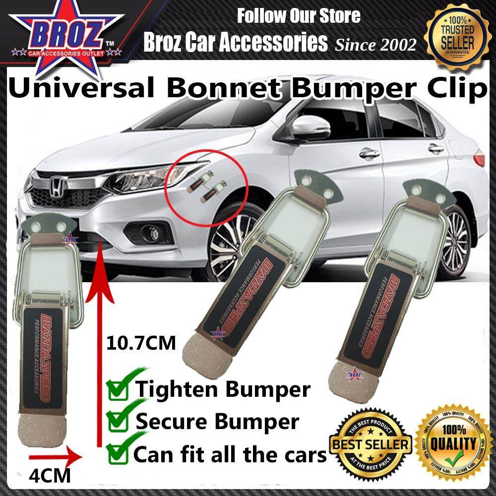 Universal Car Bonnet Bumper Clip BIG - MAZDA SPEED