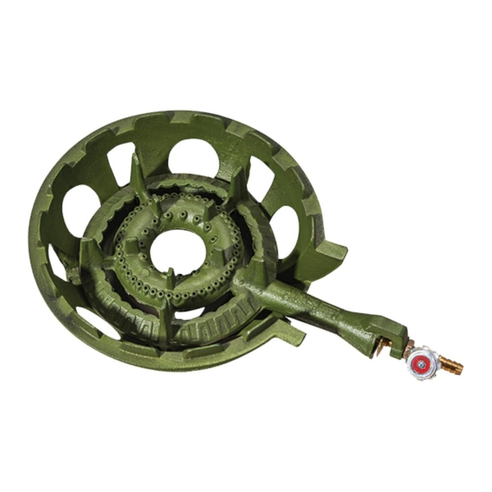 1pcs Free Shipping LS20 1 Pipe Gas Stove (C/SET) Green. Ship in 6 Hours !