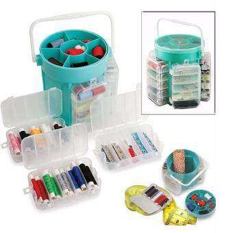 Harga 210pc Deluxe Sewing Kit Set