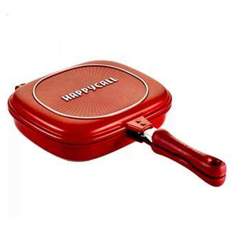 32cm Happy Call Pan! Non Stick Double Sided Fry / Grill Pan FromKorea