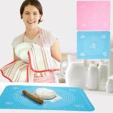 Jual Beli Allwin Silikon Kue Adonan Make A Cake Gulung Tikar Memotong Fondant Baking Bantalan Baker Alat Biru