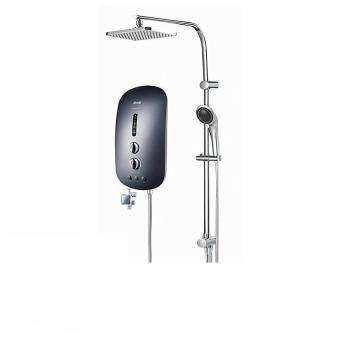 Alpha Water Heater Smart 18 EP Plus Rain Shower Black