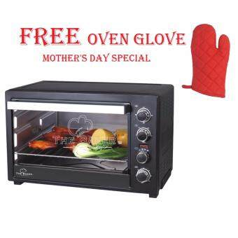 Harga BAKER Electric Oven 50L FREE Oven Glove * Mother's Day Special
