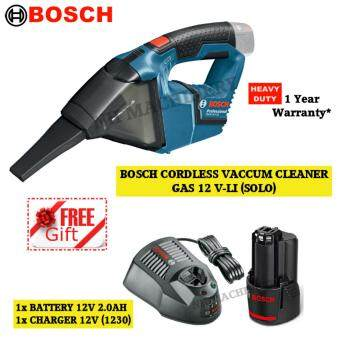 Bosch GAS 12 V-LI Cordless Vacuum Cleaner Free Battery(2.0AH)Charger(1230)