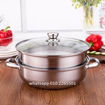 CHEEP Luxury Soup Steam Pot 28-cm High Quality Stainless Steel Pot