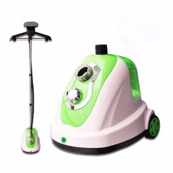 Harga DANA MY528 Cloth Hanging 1.5L Garment Steamer (GREEN)