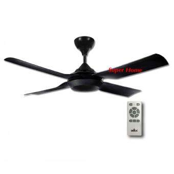 Deka DC motor 52 inchi Designer Decorative Ceiling Fan DCX Black
