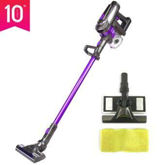 Dibea F6 2-in-1 Handheld Cordless Stick Vacuum Cleaner and Mop,Purple