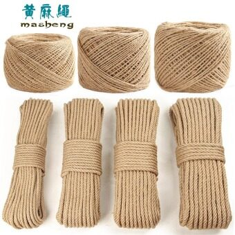 Harga DIY handmade decorative products thick hemp rope