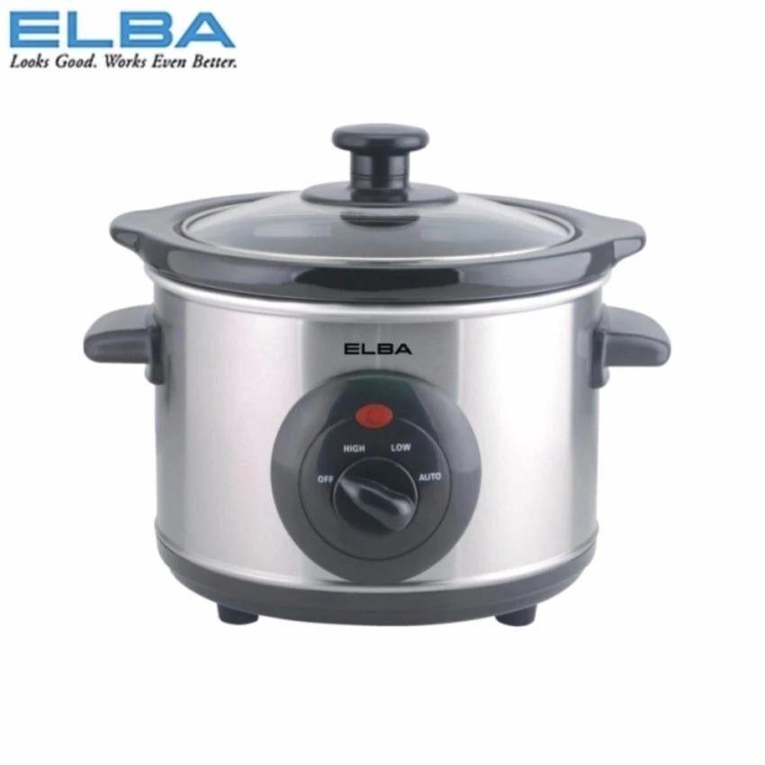 Elba Slow Cooker 1.5L ESC-D1538 (SS)