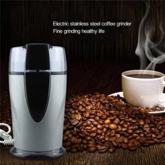 Electric Spice and Coffee Bean Grinder with Stainless Steel Blades