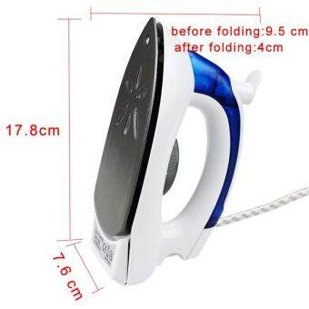 Folding Steam Iron Mini Travel Irons Steam Clothes Steamer PortableSteam Iron for Ironing Clothes Iron Steam Generator 700W 220V